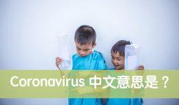 Coronavirus 中文